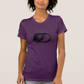 Bruxa da cozinha - bolha da bolha t-shirts