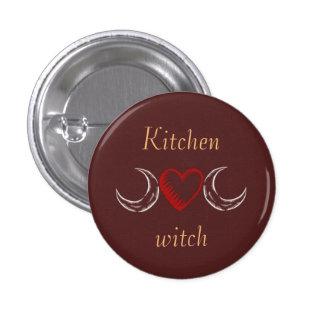 Bruxa da cozinha bóton redondo 2.54cm