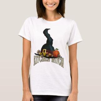 Bruxa da cozinha camiseta