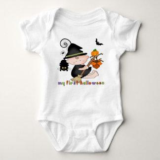 Bruxa do bebê meu ø Creeper da criança do Dia das Body Para Bebê