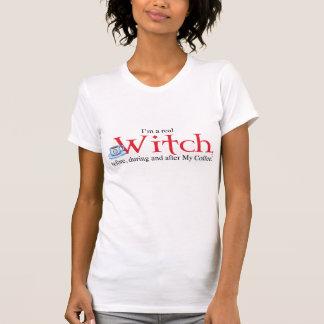 bruxa do café da camisa H