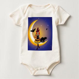 Bruxa no Moon3 Body Para Bebê
