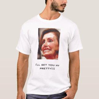 Bruxa Pelosi-Má de Nancy Camiseta