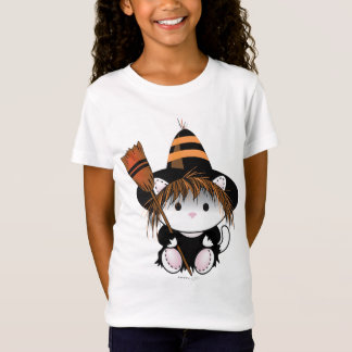 BRUXA PEQUENA Bella do ANIMAL DE ESTIMAÇÃO+T-shirt Camiseta