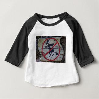 Bruxa-Proibição Camiseta Para Bebê