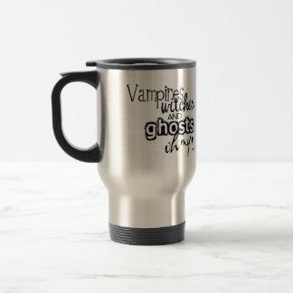 Bruxas & fantasmas do vampiro oh minha caneca de