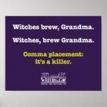 Bruxas, Grandma. da fermentação Posteres