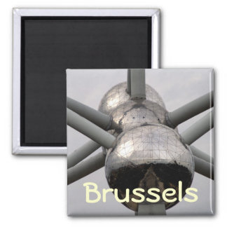 Bruxelas Atomium Imã