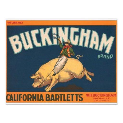 Buckingham Convites Personalizados