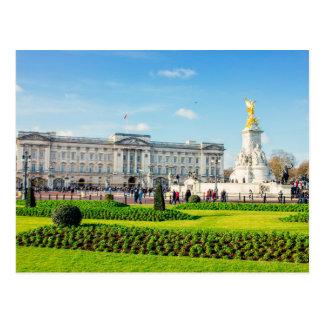 Buckingham Palace e memorial de Victoria Cartão Postal