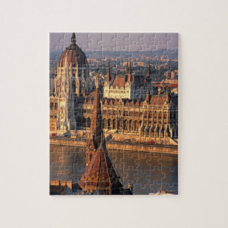 Budapest, Hungria, Danube River, o parlamento Quebra-cabeça