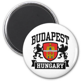 Budapest Hungria Ímã Redondo 5.08cm