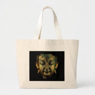 Buddha de bronze antigo enfrenta presentes por bolsa para compras