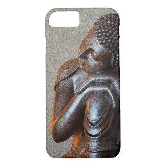 Buddha de prata calmo capa iPhone 7