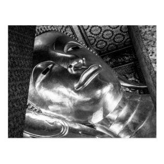Buddha de reclinação do cartão de Wat Pho