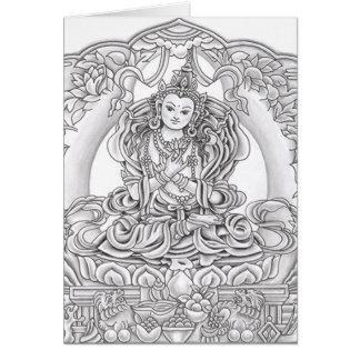 Buddha do cartão da piedade