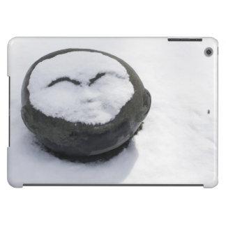 Buddha feliz com Facial da neve Capa Para iPad Air