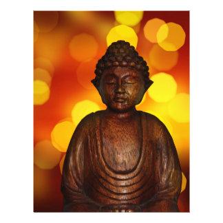 Buddha Panfletos Personalizado