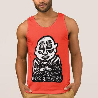 """""""Buddha Pray"""" a camisola de alças dos homens"""