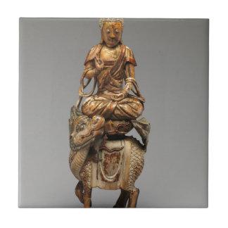 Buddha Shakyamuni com bodhisattvas assistentes