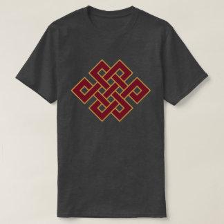 Budismo o nó infinito camiseta