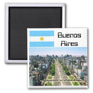 Buenos Aires Ímã Quadrado