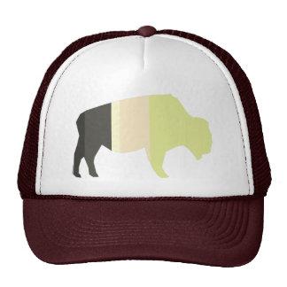 Búfalo listrado boné