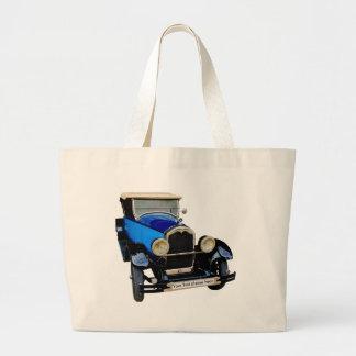 Buick com Seu texto Bolsa Tote Grande
