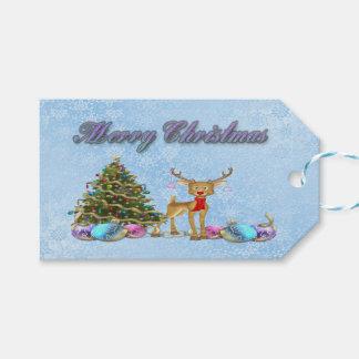 Bulbos do Natal da árvore de Natal da rena
