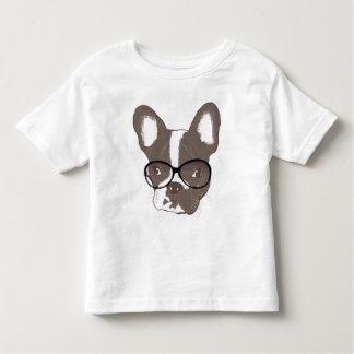 Buldogue francês à moda camiseta infantil