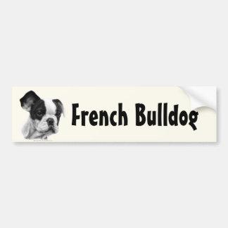 Buldogue francês adesivos