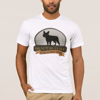 Buldogue francês camiseta