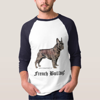 Buldogue francês! camiseta
