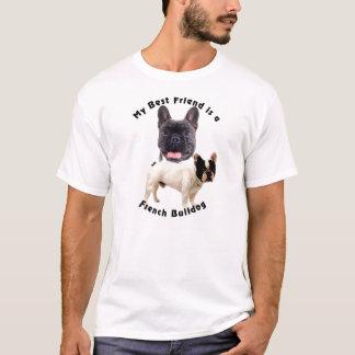 Buldogue francês do melhor amigo camiseta