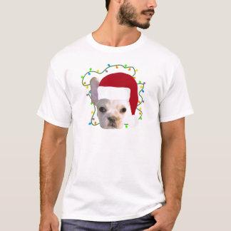 Buldogue francês do Natal Camiseta