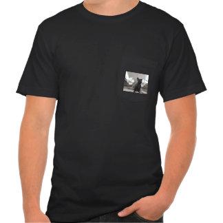 Buldogue francês preto t-shirt
