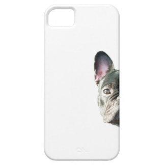 """Buldogue francês """"que espreita"""" o caso do capa barely there para iPhone 5"""