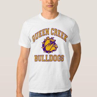 Buldogues da angra da rainha camisetas