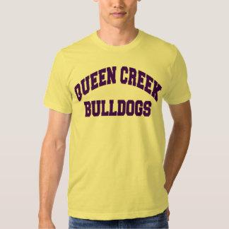 Buldogues da angra da rainha t-shirts