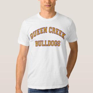 Buldogues da angra da rainha tshirts