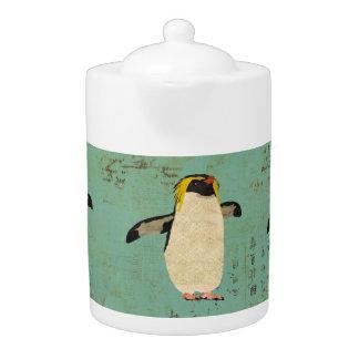 Bule azul da lagoa dos pinguins