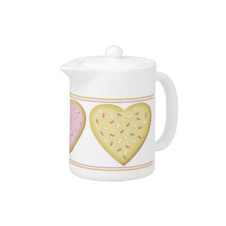 Bule dos biscoitos do coração