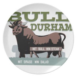 Bull Durham Pratos De Festas