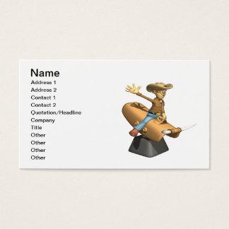Bull mecânica cartão de visitas