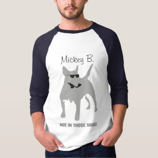 Bull terrier, Mickey B. Camiseta