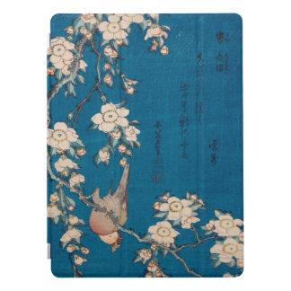 Bullfinch de Hokusai e arte Weeping de GalleryHD Capa Para iPad Pro