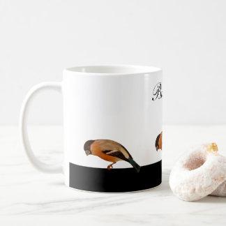 Bullfinch - pássaro caneca de café