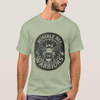 Bumble a camiseta dos homens dos GUERREIROS da