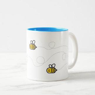 Bumble a caneca de café da abelha
