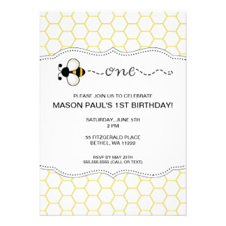 Bumble a primeira festa de aniversário da abelha c